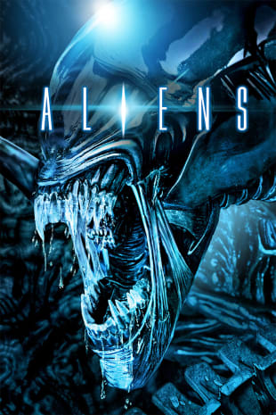 movie poster for Aliens (1986)