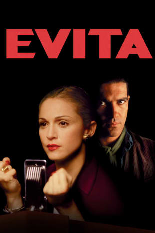 movie poster for Evita