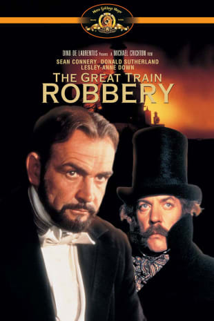 movie poster for The First Great Train Robbery