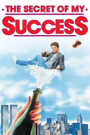 movie poster for The Secret of My Success