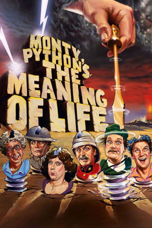 movie poster for Monty Python's The Meaning Of Life