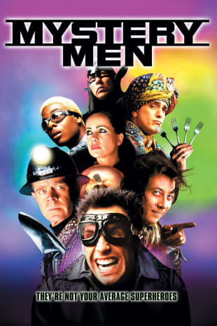 movie poster for Mystery Men