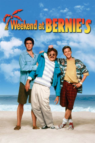 movie poster for Weekend at Bernie's