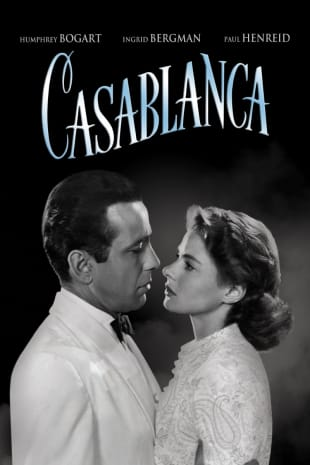 movie poster for Casablanca (1942)