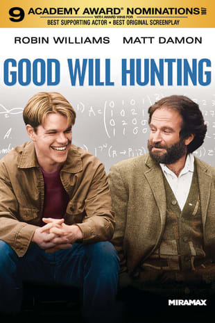movie poster for Good Will Hunting (1997)