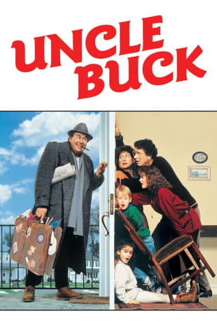 movie poster for Uncle Buck
