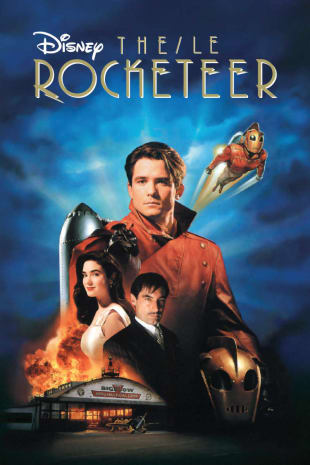 movie poster for The Rocketeer