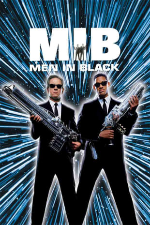 movie poster for Men In Black (1997)