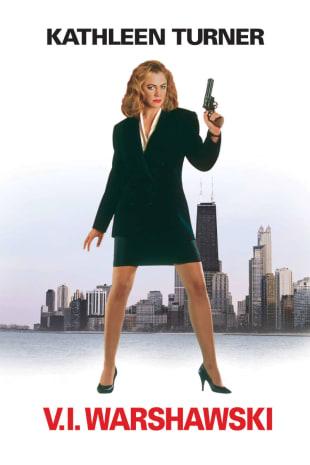 movie poster for V.I. Warshawski