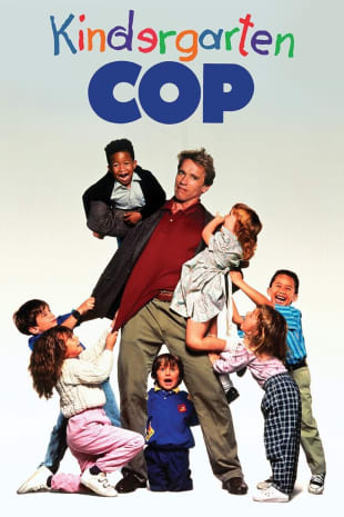 movie poster for Kindergarten Cop