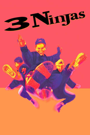 movie poster for 3 Ninjas