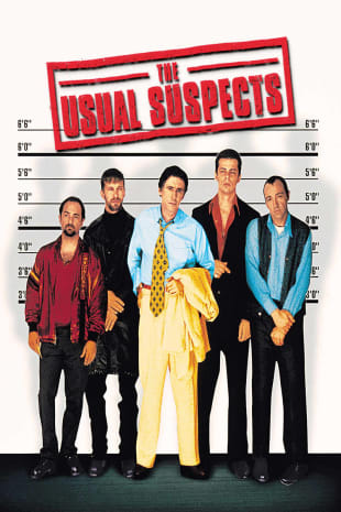 movie poster for The Usual Suspects