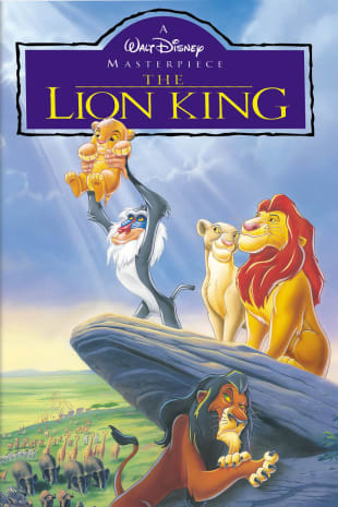 movie poster for The Lion King (1994)