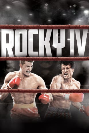 movie poster for Rocky IV