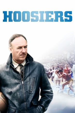 movie poster for Hoosiers