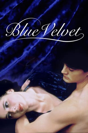 movie poster for Blue Velvet