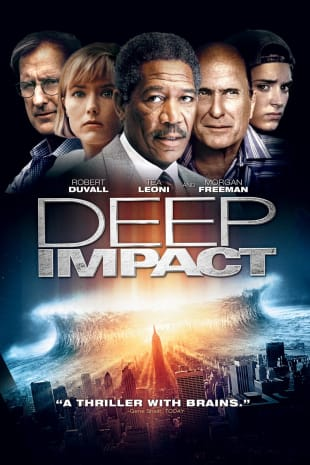 movie poster for Deep Impact
