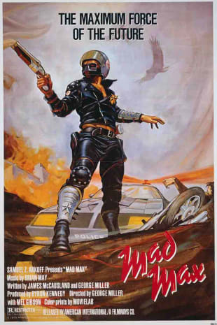 movie poster for Mad Max