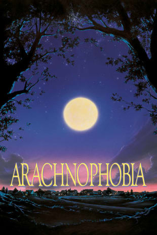 movie poster for Arachnophobia