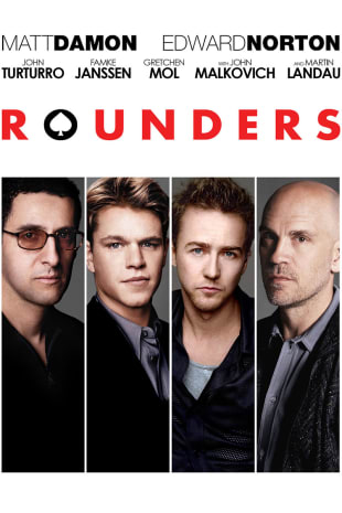 movie poster for Rounders (1998)