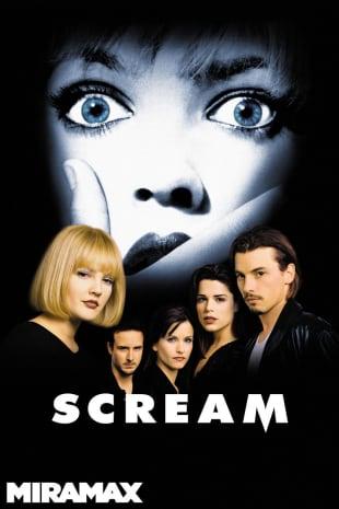 movie poster for Scream (1996)