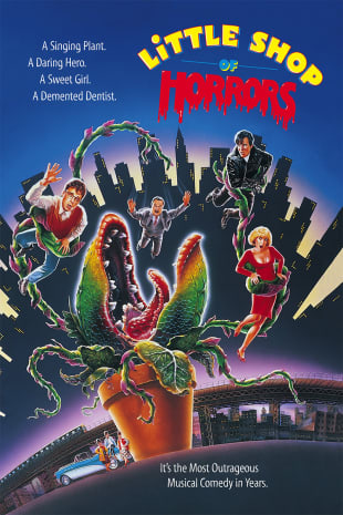 movie poster for Little Shop Of Horrors (1986)