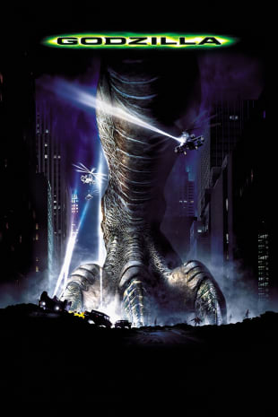movie poster for Godzilla (1998)