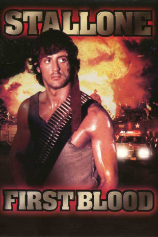 movie poster for First Blood