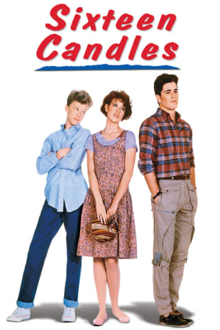 movie poster for Sixteen Candles