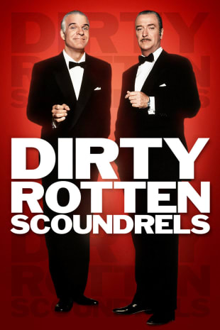 movie poster for Dirty Rotten Scoundrels