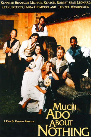 movie poster for Much Ado About Nothing (1993)