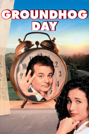 movie poster for Groundhog Day