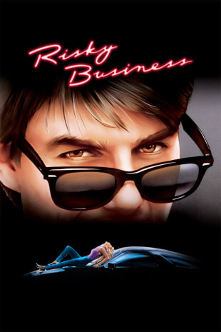 movie poster for Risky Business