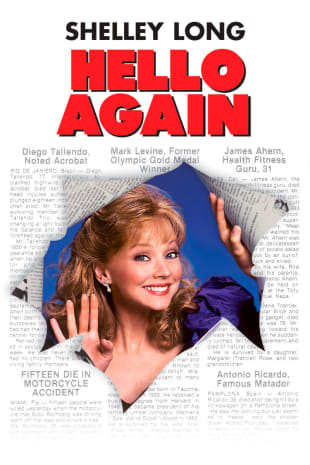 movie poster for Hello Again (1987)