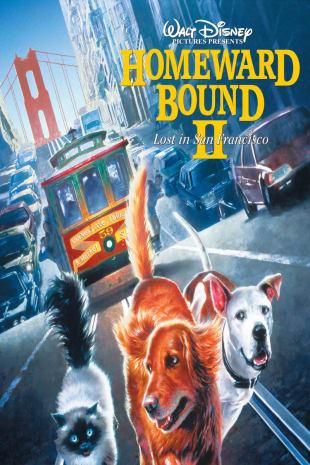 movie poster for Homeward Bound 2