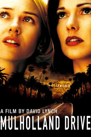 movie poster for Mulholland Drive