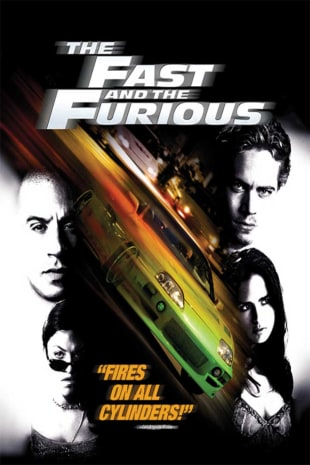 movie poster for The Fast and the Furious (2001)
