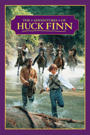 movie poster for The Adventures of Huck Finn