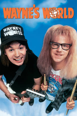 movie poster for Wayne's World