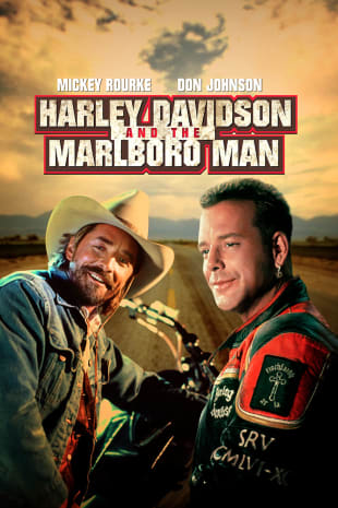 movie poster for Harley Davidson And The Marlboro Man
