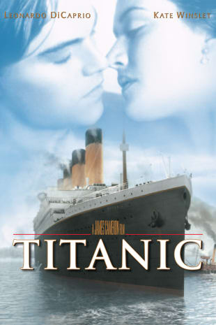 movie poster for Titanic