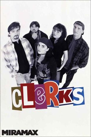 movie poster for Clerks