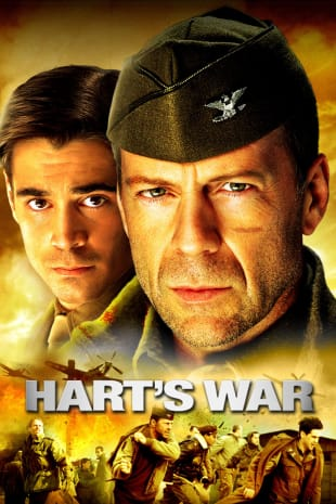 movie poster for Hart's War