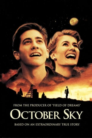 movie poster for October Sky