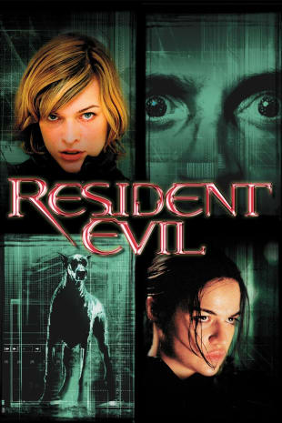movie poster for Resident Evil (2002)