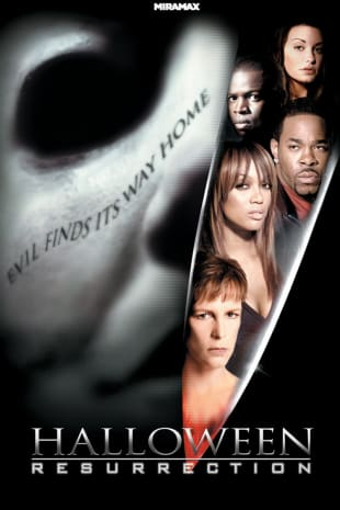 movie poster for Halloween: Resurrection