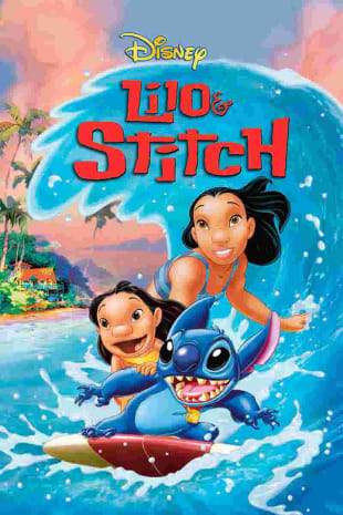 movie poster for Lilo & Stitch