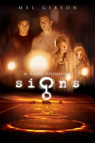movie poster for Signs