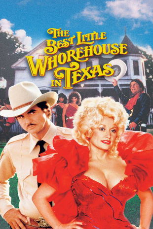 movie poster for The Best Little Whorehouse In Texas