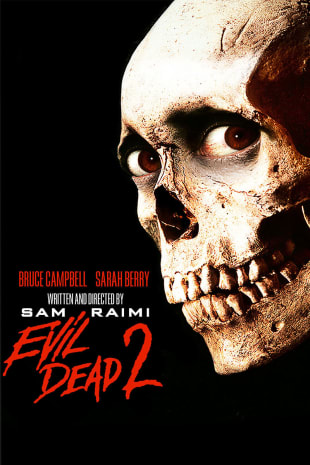 movie poster for Evil Dead II